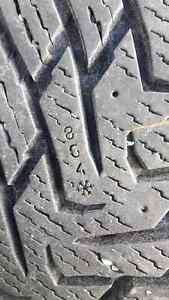 Nokian hakkapelitta 8 245/60r18 sur roues