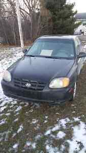 2005 Hyundai Accent Sedan For Sale (Needs work/ For parts)