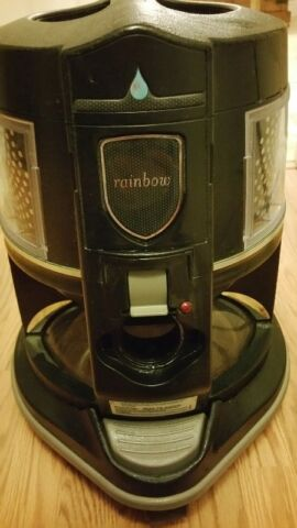 2 yr old Rainbow vacuum and air purifier