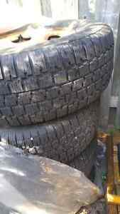 Chevy 6 bolt truck rims and winter tires London Ontario image 2