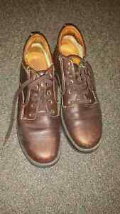 Size 9 male Timberland leather shoes for sale Peterborough Peterborough Area image 1
