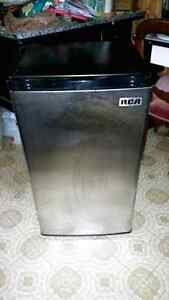 RCA. Stainless steel. 2 year old, apartment size fridge. Very go