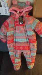 New Baby Snowsuit 3-6months