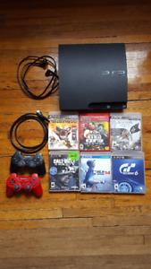 PS3 + 6 Games