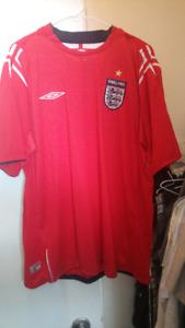 2004-2006 England soccer Jersey