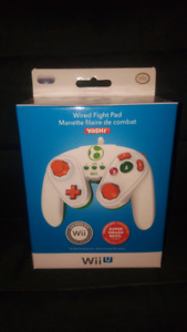 New Wii U Wired Fight Pad -Yoshi Edition
