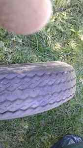 Spare tire for trailer