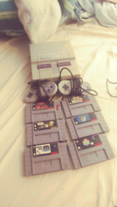 Super nes 50$ or best offer!
