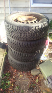 4 Winter Tires barely used