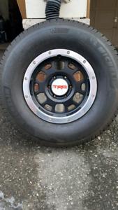 Authentic Toyota TRD & Michelin A/S LTX