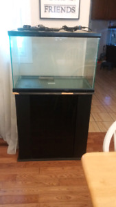 51 gallon tank, stand$160 firm