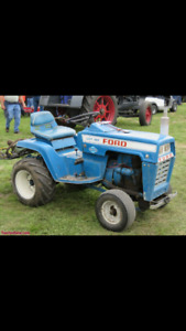 Looking for late 60's to late 80's garden tractor project