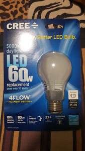 Cree LED bulb  daylight 60w
