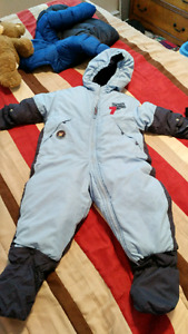 Carters 24 month one piece snow suit