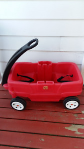 CHARIOT STEP 2 AVEC ATTACHES $58.00