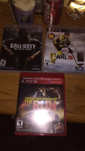 3 ps3 game for sale. Mint condition