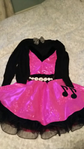 50s Halloween Costume (age 8-12). Five Pieces.