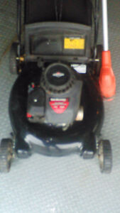 Briggs and Stratton gas lawnmower