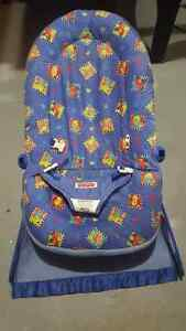 Infant bouncy vibrating chair