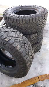 Goodyear Wrangler M/S tires good tread REDUCED