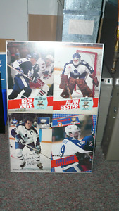 FRAMED TML Molson Cup Very Rare- Autographed Looks GREAT