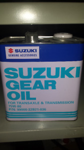 GL4 Transmission Oil - Works for Auto/Motorcycle