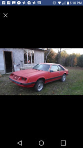 1984 Mustang LX PROJECT CAR