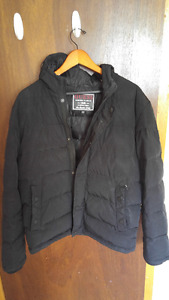 Guess Men's Winter Puffer Jacket Medium