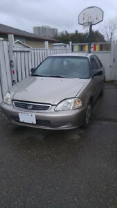 2000 Honda Civic Special Edition Sedan as is