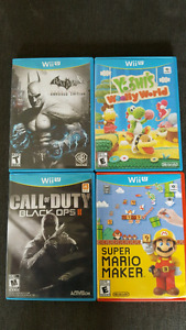 Wii U Games,  Marios barely used