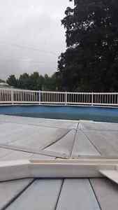 $500  OBO-21 inch round above ground pool
