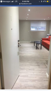 1 bedroom bachelor apartment for rent, Newcastle ON