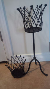 Metal Candle Holder Set of 2 - for sale !