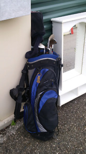 Golf clubs incomplete set good shape used