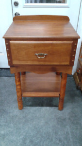 Table with drawer in excellent condition