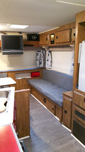 Newly renovated Fifth Wheel Camper Trailer SOLD!