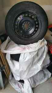 Like NEW!  Four Michelin X-Ice 3 winter tires on Ford rims Kitchener / Waterloo Kitchener Area image 3