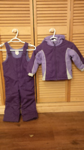 Size 4T Girl's Snowsuit