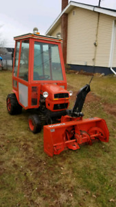 SOLD . Ariens GT19 with 45 inch snow blower