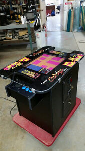 Classic arcade video cocktail table with 412 games