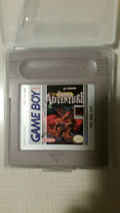 Castlevania Adventure for the Nintendo GameBoy