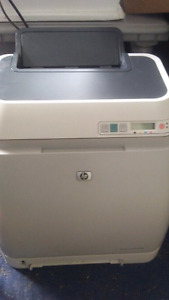Hp laser jet 2605dn printer working
