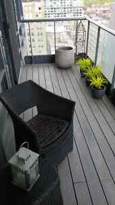 Condo Balcony Decking - Customized in Real Wood or Composite