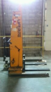 Lift-Rite Pallet Stacker - Electric