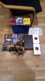 Sony Playstation 2 and Games Bundle