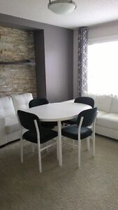 dinning table and chairs set