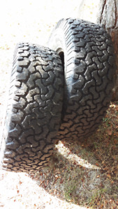 BFG all-terrain t/a 285 75 16 set of two