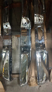 TRUCK BUMPERS- PICK UPS AND HEAVY DUTY CHROME BUMPERS OEM