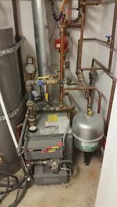 Boiler and water tank for sale