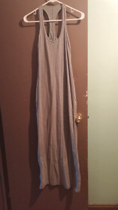 Lululemon gray maxi dress